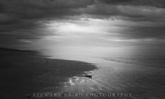 Sometimes (stewartbaird) Tags: sand landscape nature mist beach sea newzealand blackandwhite rest clouds