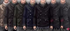 [Deadwool] Admiral pea coat ([Deadwool] // Masa Plympton) Tags: coat peacoat secondlife