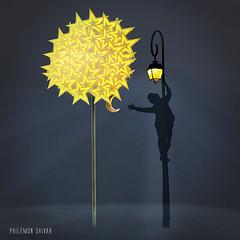 Le dernier fruit (Philmon Shivar) Tags: contepourenfant fruit lune posir petitprince arbre imaginaire potique dcrocherlalune rve rverie