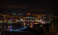 Whitby at night (jameshowardphotography) Tags: whitby water north northyorkshire northeast northern night lights long exposure bridge