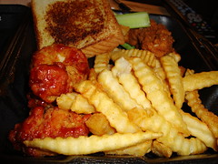 Wings And Things Platter. (dccradio) Tags: lumberton nc northcarolina robesoncounty food eat zaxbys wingsnthings wingsandthings chicken fries celery frenchfries takeout fastfood chickenfingers bonelesswings toast meal supper dinner lunch