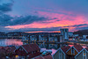 Sandefjord city (Kejerith) Tags: sunset pink clouds red norway norge kejerith kenny scyscape landscape urban city