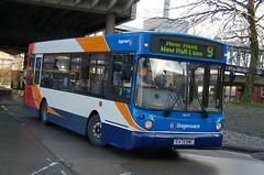 Stagecoach Dennis Dart SLF 34079 S479BWC - Preston (dwb transport photos) Tags: stagecoach dennis dart alexander alx200 bus 34079 s479bwc preston