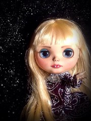 Blythe-a-Day October#27: Vampires: Luna Is Ready for Halloween