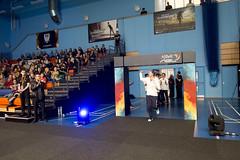 NBLmatch-5100-0265-2 (University of Derby) Tags: 5100 badminton nbl sportscentre universityofderby match