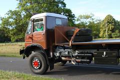 AEC Militant 899 UKM (BIKEPILOT) Tags: aec matador flatbed truck lorry vehicle transport dunsfoldvillage surrey uk greatbritain wingswheels classic vintage