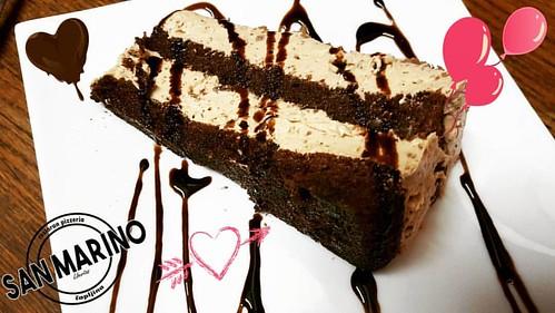 #stracciatella #cake to je neka posebna ljubav! 😊❤ Za desert nikad nije kasno! 🍷🍴☺ #restosanmarino #finestbbq #čapljina #hercegovina  Izbor hedonista!