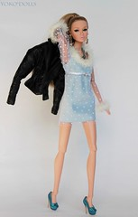 Nightout (YOKO*DOLLS) Tags: poppy convention party fashion doll fashionroyalty jasonwu christimas premiere makeover