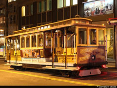 San Francisco Municipal Railway #54 (vb5215's Transportation Gallery) Tags: muni san francisco municipal railway 1992 shops cable car