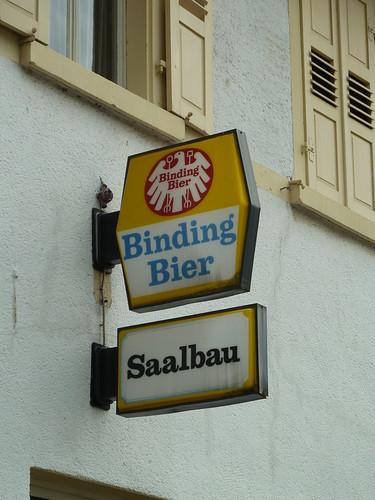 Binding Bier Saalbau