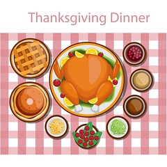Free Vector Happy Thanksgiving Day food for dinner (cgvector) Tags: baked bread carrots cartoon celebration clipart corn cranberry dinner dish food holiday illustration lemon lettuce modern orange peas pepper potatoes roasted sauce season seasonal supra table thanksgiving tomato tradition traditional turkey vector vegetable wine background fall pumpkin leaf banner autumn header design decoration day brown template maple element card decorative collection web gold color colorful plant nature