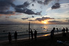 Waikiki Beach Sunset (Fionn Luk) Tags: fionn luk canon 5d view scene landscape trip travel vacation adventure explore waikiki beach sunset thefootprintdiary silhouette october ocean honolulu waikikibeach hawaii
