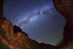 "Milky Way over Grand Canyon (IronRodArt - Royce Bair (""Star Shooter"")) Tags: milkyway nightphotography starrysky grandcanyon nightscape nightscaper stars heavens galaxy nightsky starrynightsky"