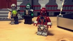 Parasite (LordAllo) Tags: lego dc superman parasite metallo atomic skull