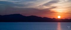 Otro atardecer por el oeste (amofer83) Tags: jupiter 11a 135mm panormico paisaje landscape sea mar lamangadelmarmenor sol