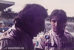 Formel 1    1983 - Riccardo Patrese + Nelson Piquet (alpenbild.de) Tags: hockenheim badenwürttemberg deutschland hockenheimring motodrom groserpreisvondeutschland formel1 formula1 motorsport fahrerlager pitlane boxengasse formulaone nelsonpiquet alainprost renault bmw brabham brabhambmw f1