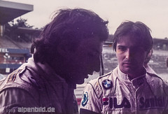 Formel 1    1983 - Nelson Piquet +  Alain Prost (alpenbild.de) Tags: hockenheim badenwrttemberg deutschland hockenheimring motodrom groserpreisvondeutschland formel1 formula1 motorsport fahrerlager pitlane boxengasse formulaone nelsonpiquet alainprost renault bmw brabham brabhambmw f1