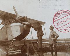 Gistel - 'Flugplatz' - 1916 (Feldpost 14) Tags: wwi worldwari flandern gistel