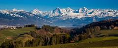 Alpenpanorama Thunersee (Bugtris) Tags: mönch 2470f4l ptguistitch thunersee landschaft berg schnee eiger panorama berge jungfrau canon 5dmkiii gibelegg alpen