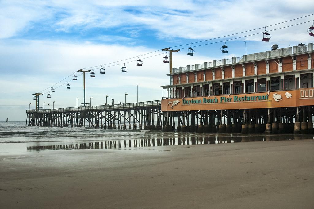 The world 39 s best photos of daytona and ocean flickr hive for Daytona beach fishing pier