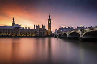 Big Ben Sunset #explore