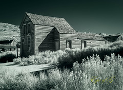 Once Lived In.jpg (Eye of G Photography) Tags: california usa monolaketrip infrared northamerica old bodie buildings places ghosttown