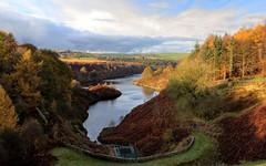 Ramsden Reservoir (James Cottrell 1) Tags: reservoir ramsden water autumn trees yorkshire sunny light landscape holmfirth west kirklees