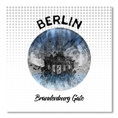 Graphic Art BERLIN Brandenburg Gate (american_flat) Tags: berlin germany brandenburggate abstract architecture art black blur blurred brandenburg building city colorspot column dark decorative digital painting drive dynamic east europe evening experimental famous fantasy gate graphic historic illuminated landmark lights megacity modern night painted pattern pop sight skyline spot urban circle polygon shape geometric illustration dots deutschland