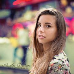 the carousel... (2) (Amlie B.) Tags: beautiful woman portrait belgique belgium bruxelles brussels fair foiredumidi fineart fine art colorful carousel