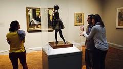 Every girl's dream (halifaxlight) Tags: unitedstates illinois chicago artinstituteofchicago gallery degas sculpture ballerina paintings women man admiring looking