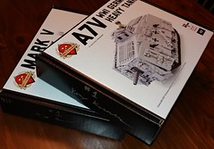 Look what arrived today! (BrickArms) Tags: brckarms brickmania a7v markvtank ww1lego
