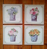 telinhas 20 x 20 (Imer atelie) Tags: telas quadros vasos rosas hortencia pintura uberaba imeratelie conjunto decoração parede vintage