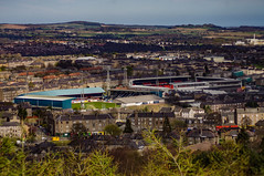 Dundee - Tannadice and Dens (Brian Travelling) Tags: cityofdiscovery dundee desperatedan radar creative tombraider abertayuniversity scotland football stadia stadium dundeefc dundeeutd scottish cityscape city pentaxkr pentax pentaxdal