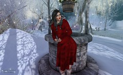 Snapshot_miracle_December_night (jeffresident) Tags: brayce jeff jeffferie december miracle belleza freya mesh catwa blackhair night stars snow redlips meshbody boots coat cold beauty winter coffeetime porterislands slhairstyle
