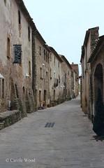 Monells - Carrer Vilanova (Fontaines de Rome) Tags: monells carrer vilanova