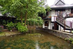 Cornwall #478 Liskeard 150611 Trago Mills (Steveox55) Tags: cafe pond cornwall liskeard