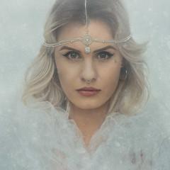 SNOW QUEEN (corrine8) Tags: 2016 d810 d810test2016december decembersnow queen sophie naturallight portrait test