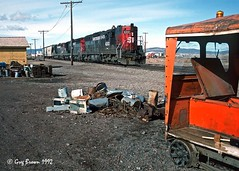 Out in the Tules (C.P. Kirkie) Tags: southernpacific sp spmodocline modocline modoc modocnorthern emd trains railroads northeasterncalifornia california siskiyoucounty