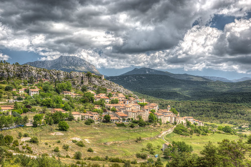 Untouched Medieval Landscape