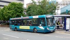 Debranding in progress (bobsmithgl100) Tags: bus woking buh surrey alexander dennis route28 4020 enviro200 gn58 cawseyway gn58buh arrivakentsurrey