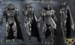 Skull Knight White (EC-Eleran's Craft) Tags: outfit mesh crafts magic fantasy secondlife armor sword knight warrior undead zbrush ecelerans