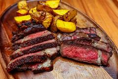 Homemade Reverse Sear Prime Ribeye w/ Roasted Yukons (sheryip) Tags: potato foodporn yukon homemade steak foodie ribeye