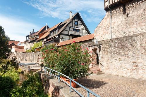 Mur d'enceinte à Gernsbach