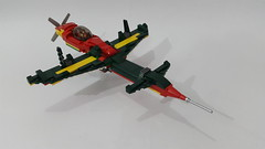 Mantis v2.0 (Hendri Kamaluddin) Tags: sky plane airplane lego aircarft airship airforce squadron moc fighterplane skyfi victorysquadron
