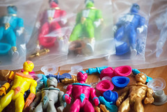 Knights of the Slice. (Nicholas Fung) Tags: toy toys design power action super pizza knights slice figure rangers figures collectibles sentai tokusatsu kickstarter toypizza onell glyos vsauce3