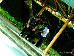 AT the Stop (Cherry DV Agoyaoy) Tags: street city up canon scott photography photo university walk philippines powershot diliman quezon kelby sx50hs wwpw2015 shootshareinspire
