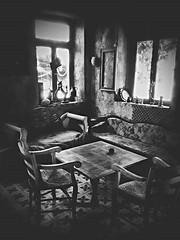 bozcaada (Serhat Kazan) Tags: autumn blackandwhite window coffee monochrome rain studio island wind aegean workshop bozcaada 2015 tenedos