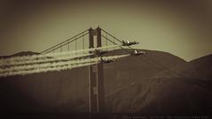 San Francisco Fleet Week 2015 (julesnene) Tags: sf sanfrancisco california sky plane us unitedstates airshow goldengatebridge blueangels fleetweek blueangel 2015 canonextenderef14xii unitedstatesnavyblueangels canonef70200mmf4lusmlens julesnene juliasumangil canon7dmarkii canon7dmark2