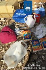Hygiene packs distribution from UNICEF by IR Pakistan in Shangla