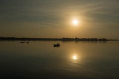 Sunrise (heshaaam) Tags: sunrise bahrain fishing ships dhow arad muharraq